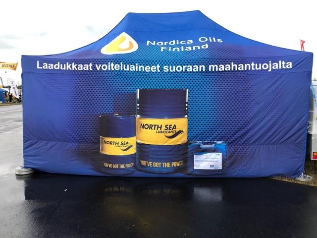 Nordica Oils in Finland at the OKRA fair | North Sea Lubricants