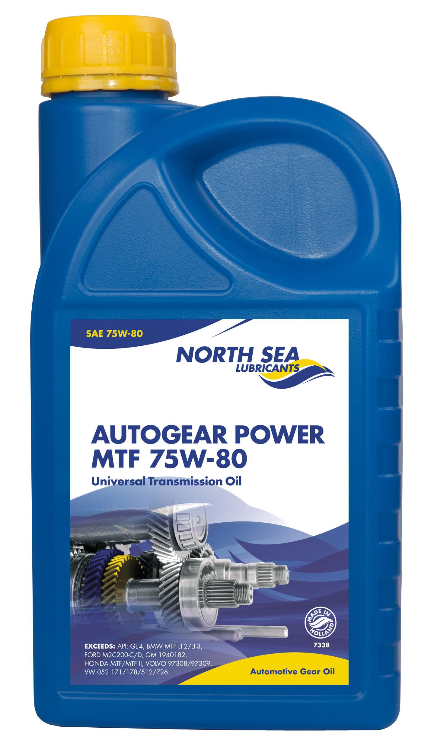 Autogear Power Mtf 75w 80 North Sea Lubricants