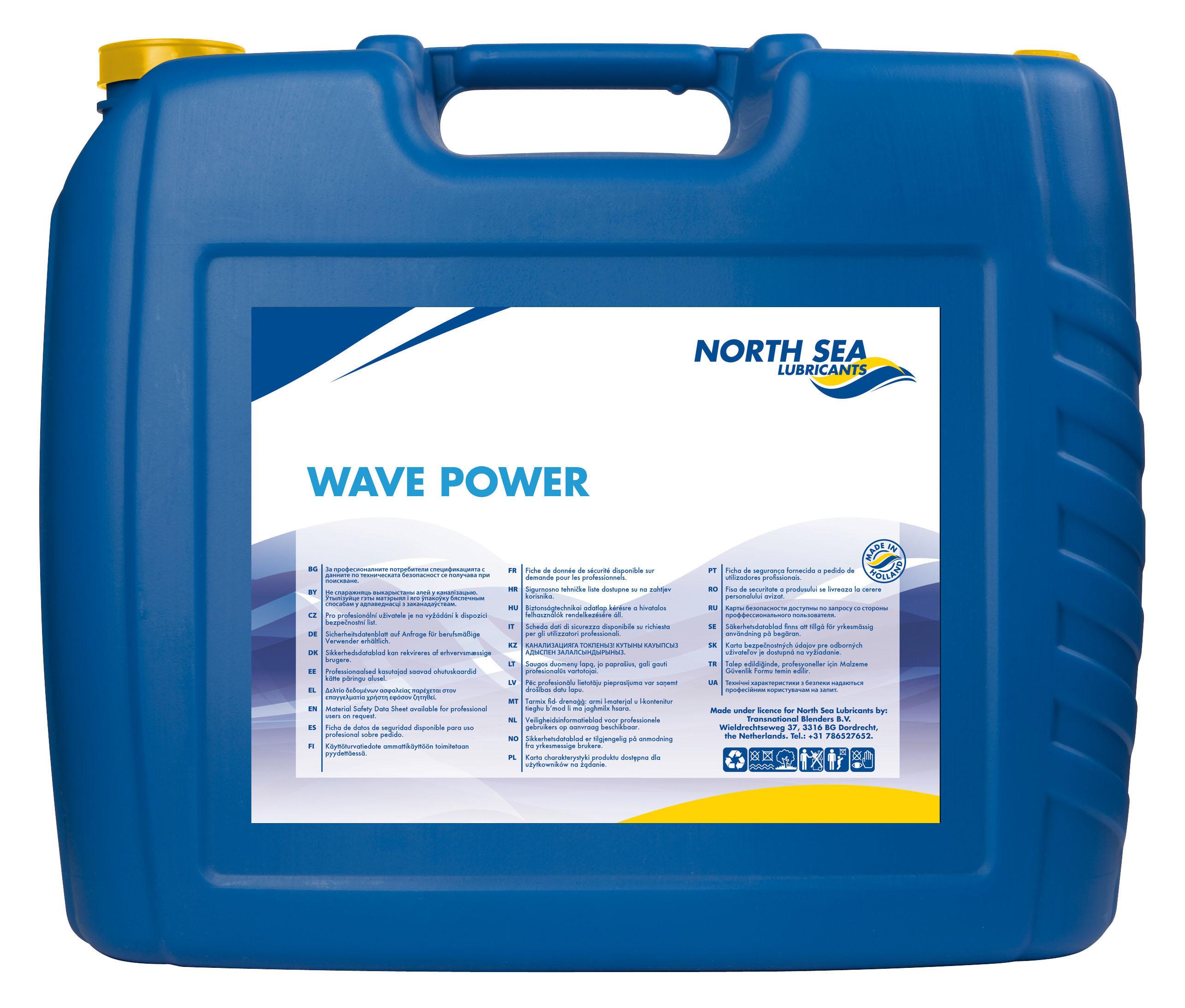 Wave Power Le 5w 30 North Sea Lubricants